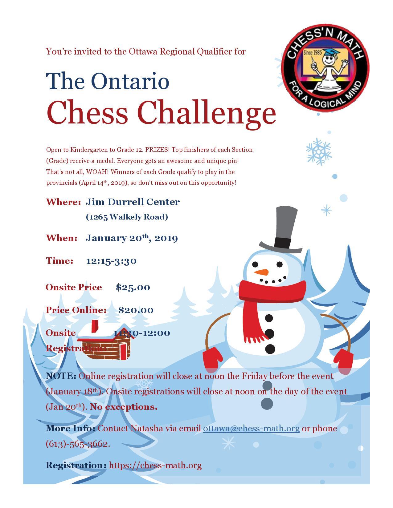 Ottwa Regional Qaulifier #1