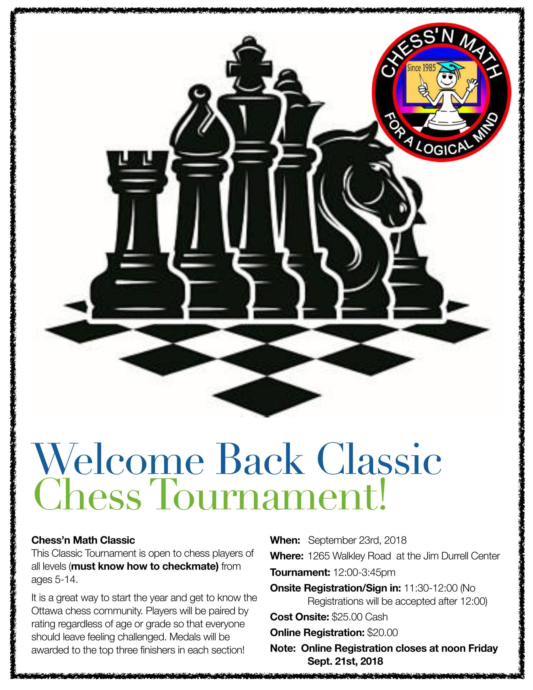 Tournament | Chess'n Math Association