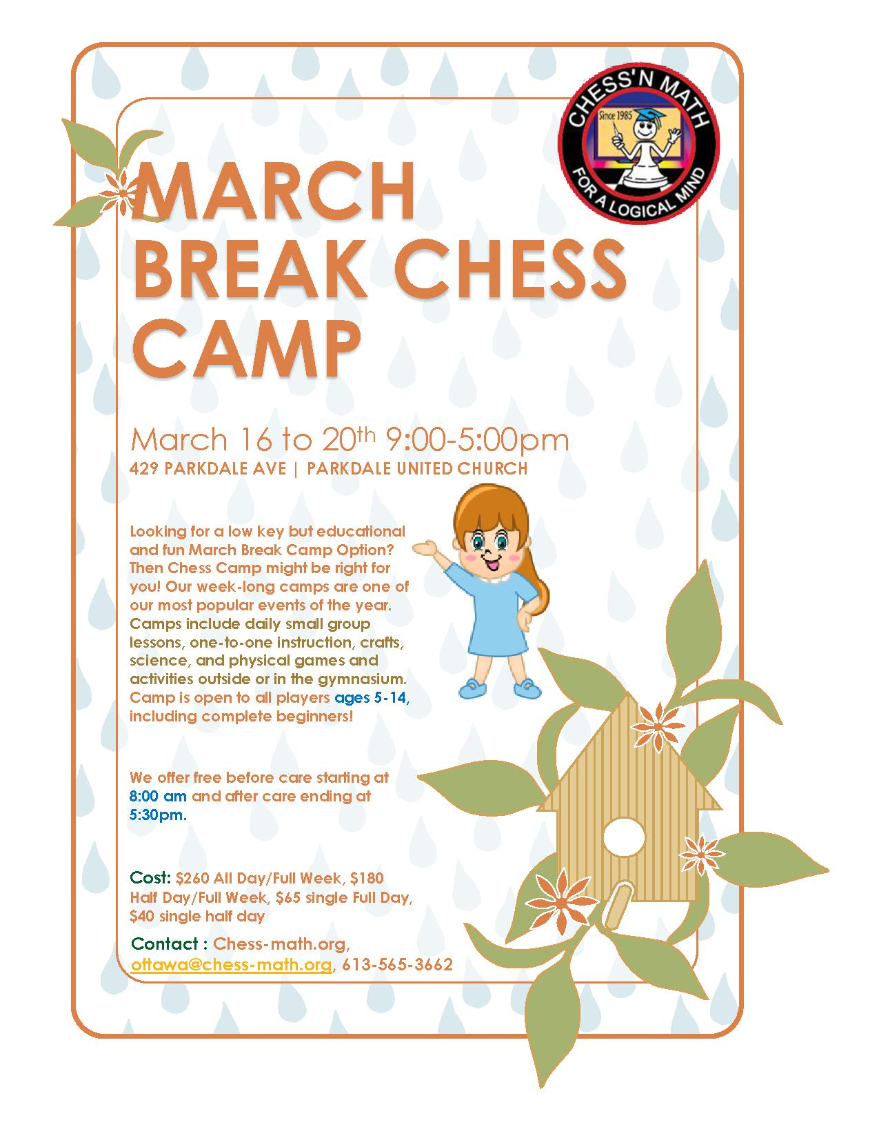 March Break Chess Camp 2020