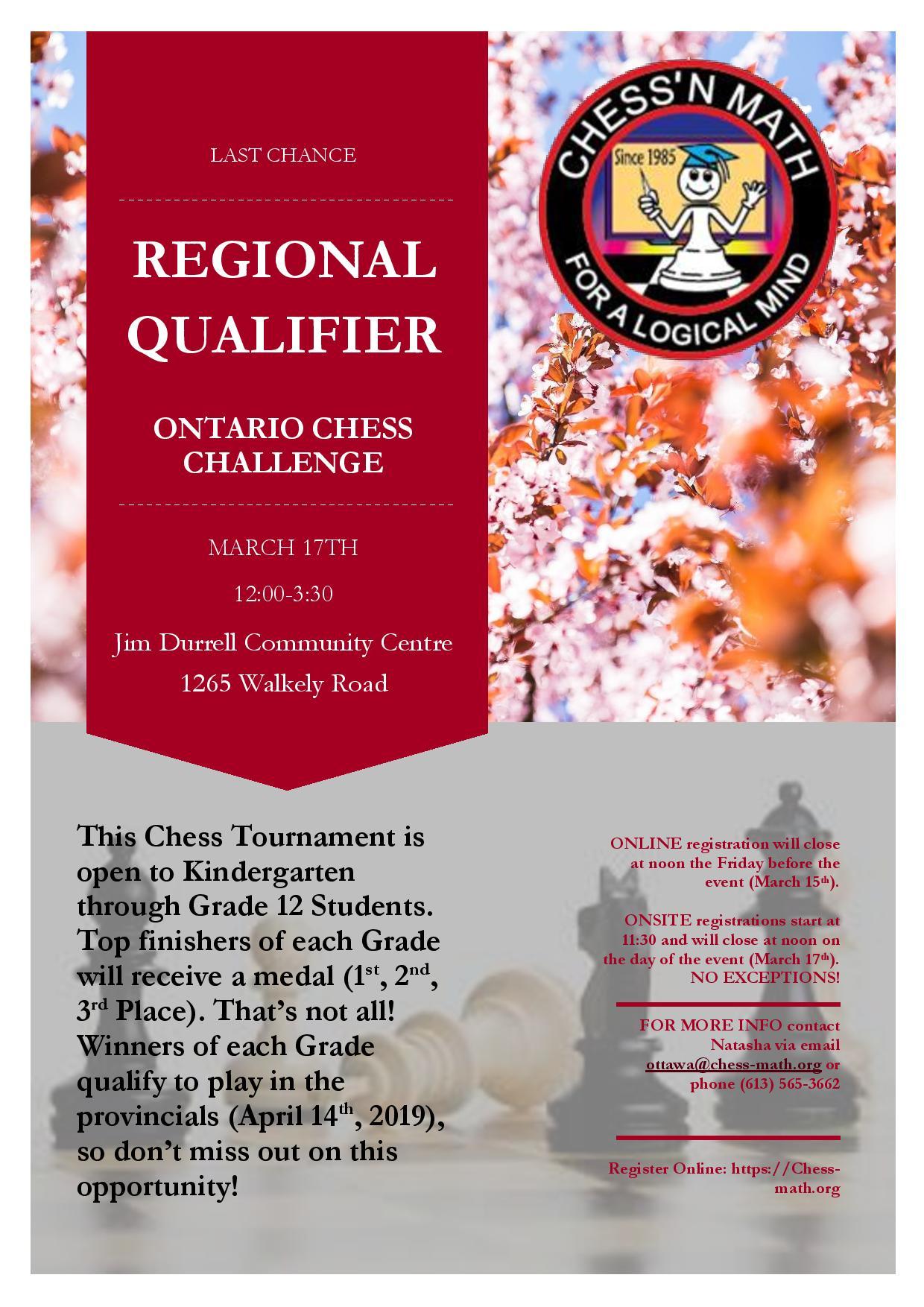 Qualifier Spring Tournament 2019